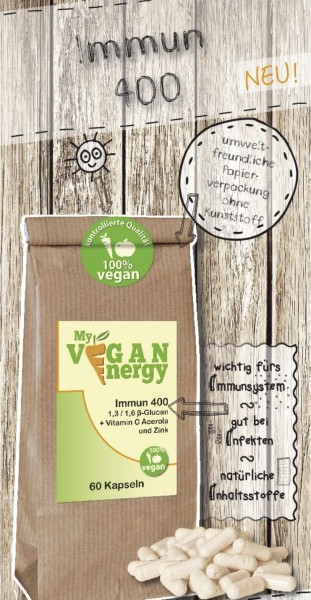MY VEGAN ENERGY | Immun 400 | shop.oelfee.de